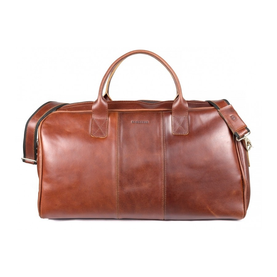 81bc41db581a9 SKÓRZANA TORBA PODRÓŻNA BRODRENE BL20 SMOOTH LEATHER